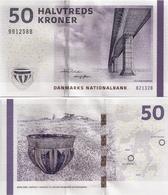 DENMARK   50 Kroner     P-65f       (20)13    UNC   [ B2 - Rohde-Sørensen ] - Danemark