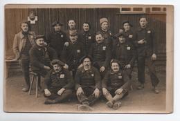 CARTE PHOTO CAMP DE PRISONNIERS DE GUERRE / KRIEGSGEFANGENENLAGER AM 20 à OHRDRUF - Allemagne