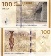 DENMARK   100 Kroner   P-66b    (20)10    UNC   [ A4 - Bernstein-Sørensen ] - Danimarca