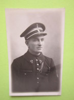 Buste Militaire Uniforme 35, Képi - Photo Datée Du 14 Novembre 1931 - Guerre, Militaire