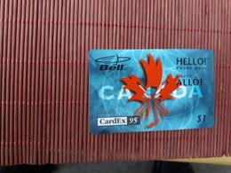 Cardex 95 Prepaidcard Canada 1 $ (mint,Neuve) 2 Scans Rare - Canada