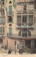 Espagne - Palma-de-Mallorca - Fachada De Los Almacenes El Aguila (colorisée) (Clinica Dental) (néo-gothique) (Théâtre) - Palma De Mallorca