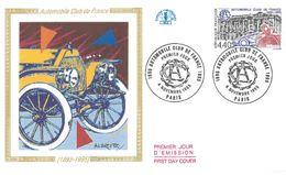 FDC Centenaire Automobile Club De France 1895-1995 (75 Paris 04/11/1995) - FDC