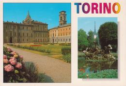 TORINO - GIARDINI PALAZZO REALE + CUPOLA CAPPELLA S. SINDONE + CAMPANILE DEL DUOMO - Palazzo Reale
