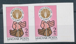 1981. World Food Day - Imperforate - Hungary
