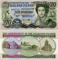FALKLAND IS.       10 Pounds       P-18       1.1.2011       UNC - Islas Malvinas