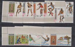 Republique De Guinee 1968 Olympic Games Mexico 10v Used (41514) - Sommer 1968: Mexico