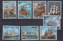 Paraguay Sailing Ships 8v Used (41514A) - Paraguay