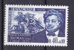 N° 1628 Personnages Célèbrres: Alexandre Dumas: Un Timbre Neuf Impeccable Sans Charnière - Nuevos