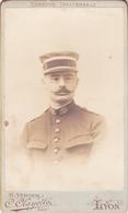 PHOTO CDV - MEDECIN MILITAIRE Entre 1880 Et 1900 - BEAU PORTRAIT Par C. CLAYETTE à LYON - Photos