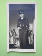 Militaire Enseigne De Vaisseau, Croix De Guerre - à Mlle Th Rostand Voir Photo 2 - Guerre, Militaire