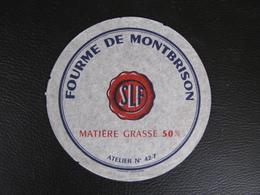 Etiquette De Fromage FOURME DE MONTBRISON SLF 50% 42-7 - Kaas