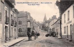 35 - Ille Et Vilaine / 10462 - Grand Fougeray - Rue Animée Du Pont Saint Père - Frankreich