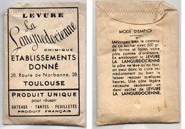 """Levure """"La Languedocienne"""" - Petit Sachet Echantillon    (110771) - Publicités"""