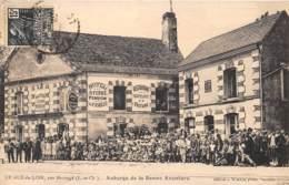 41 - Loir Et Cher / 10017 - Gué Du Loir - Auberge De La Bonne Aventure - Beau Cliché Animé - Autres Communes