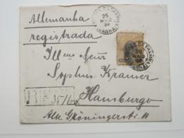 1899 , Registrada  A Allemanha - Brasil