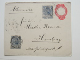 1897 ,  Lettre  A Allemanha - Brasil
