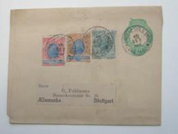 1902 ,  Lettre  A Allemanha - Brasil