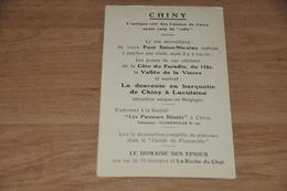 6811-  CHINY LA GOULETTE (RECLAMEKAART) - Florenville