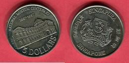 5 DOLLAR ( KM 168)  TTB 20 - Singapour