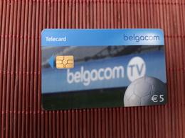 Phonecard Football Belgium Used - Belgique