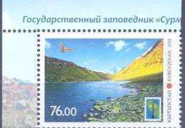 2018. Kyrgyzstan, RCC, Nature Reserve Surma -Tash, 1v Perforated, Mint/** - Kirgisistan