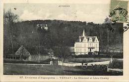 - Puy De Dôme -ref-A612- Vensat - Environs D Aigueperse - Le Chancel Et Lieu Choisy - Chateau - Chateaux - Etat - - Francia