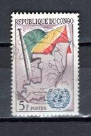 CONGO   N° 139  OBLITERE  COTE  0.20€  NATIONS UNIES - Congo - Brazzaville