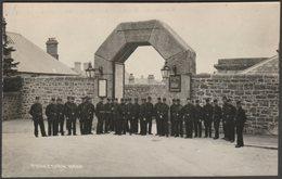 Warders, Dartmoor Prison, Princetown, Devon, C.1910s - Chapman RP Postcard - England