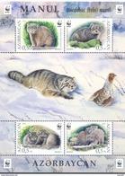 2016. Azerbaijan, WWF, Wild Cat Monul, S/s, Mint/** - Aserbaidschan