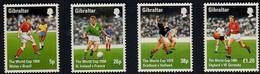 Gibraltar 1998 Yvertn° 823-26 *** MNH Cote 11 Euro Sport Football - Gibraltar