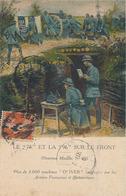 LE 75 ET LA 96 SUR LE FRONT - NOUVEAU MODELE N° 10 - PLUS DE 3.000 MACHINES OLIVER EMPLOYEES PAR LES (MACHINE A ECRIRE) - Guerre 1914-18