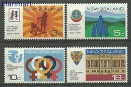 New Zealand 1975 Mi 647-650 MNH ( ZS7 NZL647-650 ) - Enfance & Jeunesse