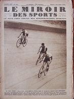 Revue Le Miroir Des Sports N°511 (5 Nov 1929) Au Vel'd'Hiv - Rugby - Pladner - 1900 - 1949