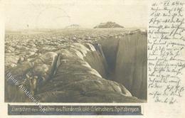 Expedition Spitzbergen Ak Mit Vignette Polar Post I-II R! - Events
