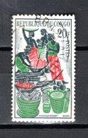 CONGO   N° 149  OBLITERE  COTE  0.50€   MARCHE DE BRAZZAVILLE - Oblitérés