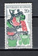 CONGO   N° 149  OBLITERE  COTE  0.50€   MARCHE DE BRAZZAVILLE - Congo - Brazzaville