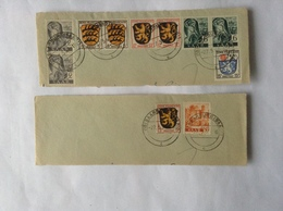 Saarburg (Saar) Provisorische Gebietserweiterung 1947 - Briefe U. Dokumente