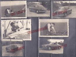 Maroc Juillet 1962 Autour D'une Alfa Roméo Bel Ensemble 9 Photos - Coches