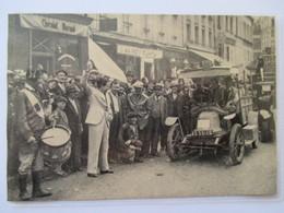 (1935)  Paris MONTMARTRE Départ  Course Automobile De Côte   - Coupure De Presse Originale  (Encart Photo) - Documents Historiques