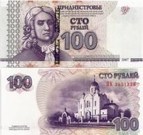 TRANSNISTRIA       100 Rublej       P-47b       2007 / 2012      UNC - Banconote