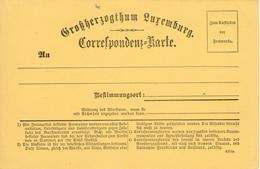"""""""Correspondenz Karte"""" CARTE PRECURSEUR PRIFIX N°III Ornement Type C, NEUF - Enteros Postales"""