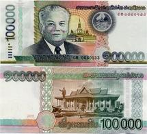 LAOS       100,000 Kip       P-42       2011       UNC  [ 100000 ] - Laos