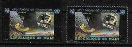 #34# MALI MICHEL 964A+B MNH**. SPACE. - Mali (1959-...)