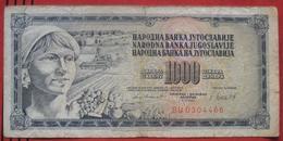 1000 Dinara 1981 (WPM 92d) - Yougoslavie