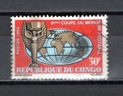 CONGO   N° 189  OBLITERE  COTE  0.60€   FOOTBALL - Congo - Brazzaville
