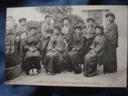 Tonkin  Femmes Japonaises Habitant Le Tonkin  Ed. Dieulefils 225 B - L411 - Vietnam
