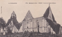 BRESSY RUINES DE L EGLISE SAINT BAZILE  ACHAT IMMEDIAT - France