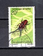 CONGO   N° 274  OBLITERE  COTE  1.00€   INSECTE  ANIMAUX - Congo - Brazzaville