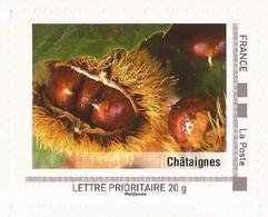"FRANCE 2009 Collector "" La Corse "" : Châtaignes - Tbre Neuf **  (adhésif) - France"